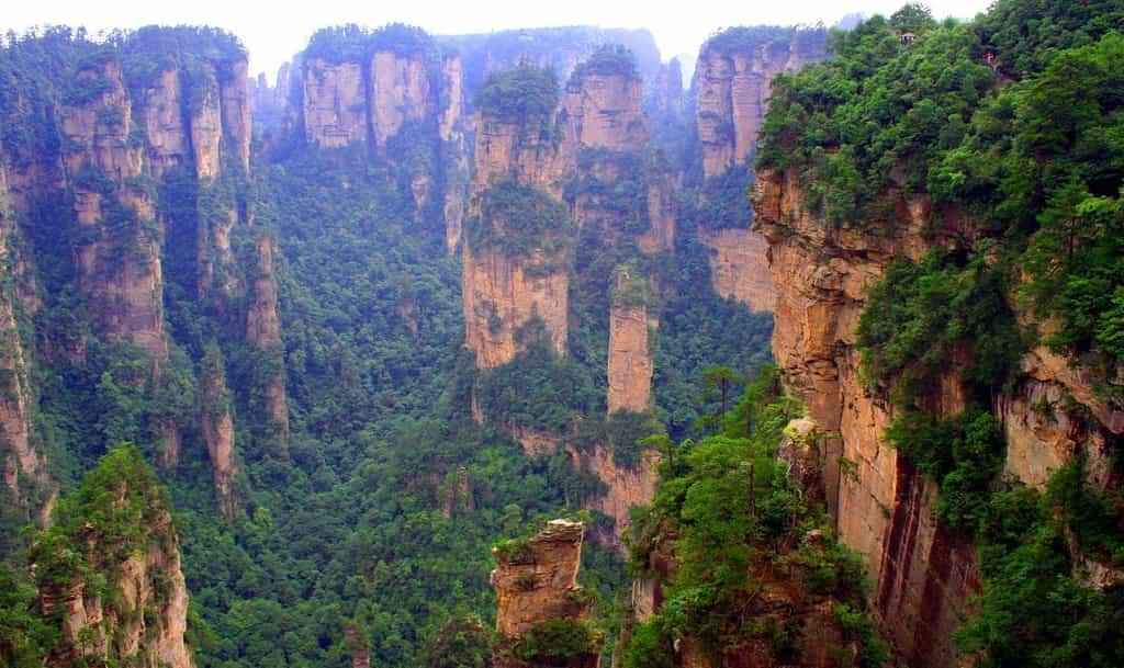 Горы Tianzi 1