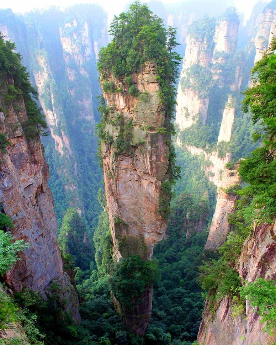 Горы Tianzi 2