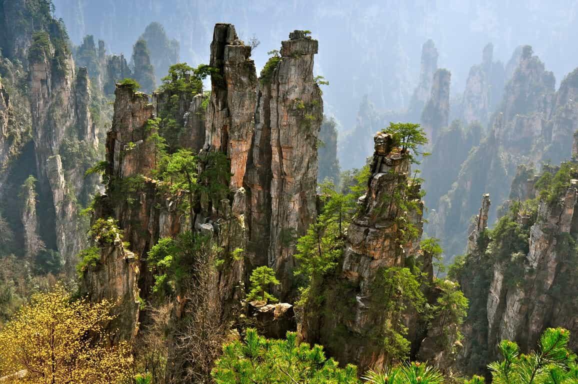 Горы Tianzi 3