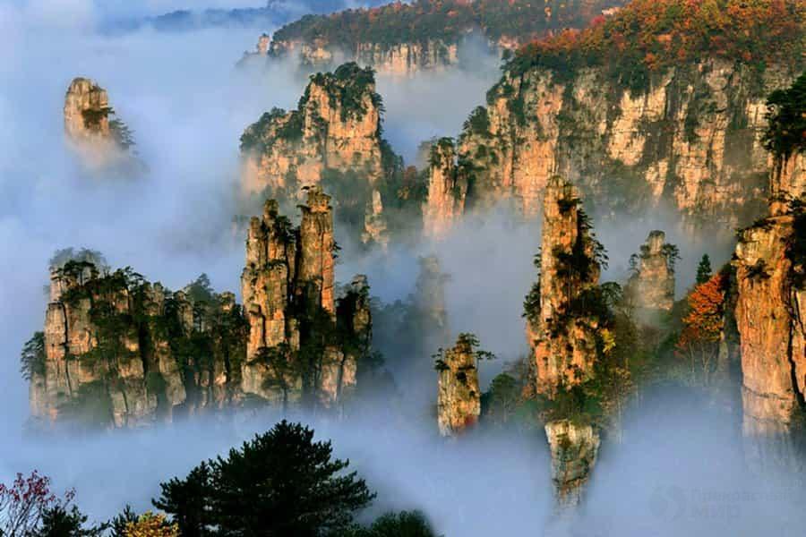 Горы Tianzi 4