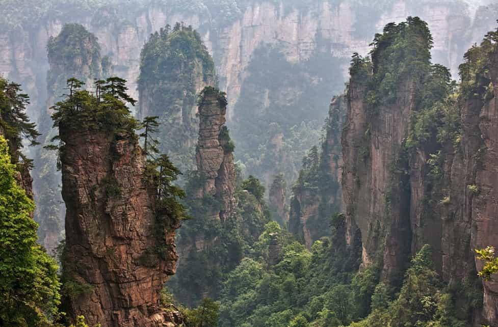 Горы Tianzi 5