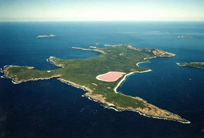 Розовое озеро Hilier 2