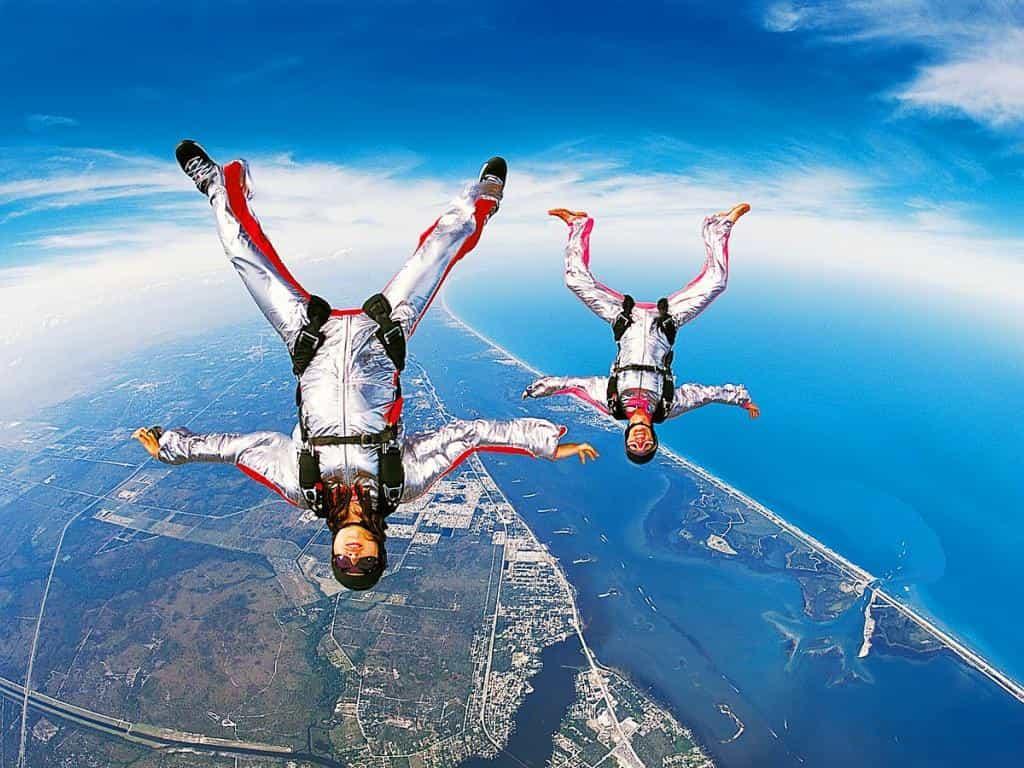 прыжок с парашютом как сфотографировать