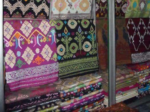 Свадебная балийская ткань ''Сонгкет''