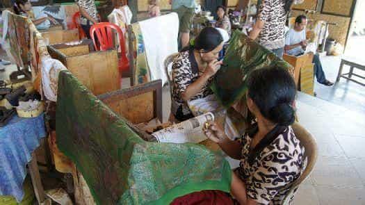 Фабрика Батика на Бали
