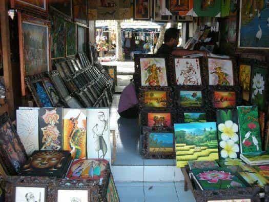 Картины на о. Бали