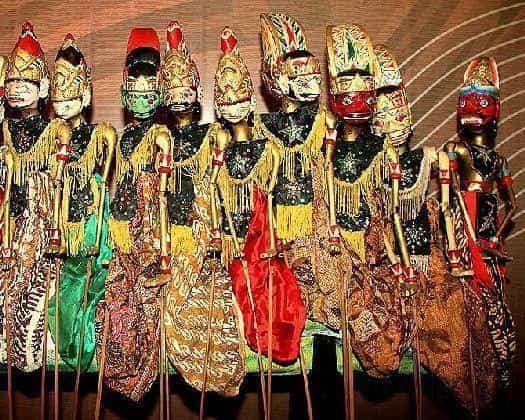 Мистические куклы ''Ваянг''