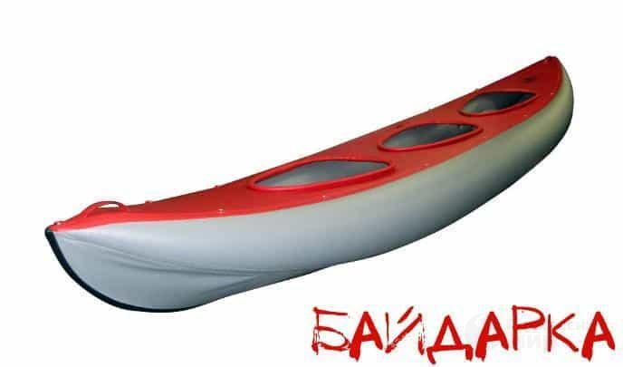 Байдарка резиновая - надувная лодка фото